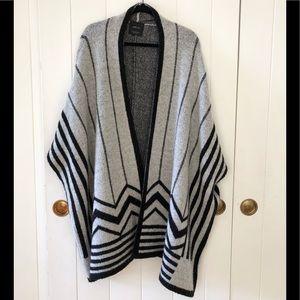 Zara sweater cape